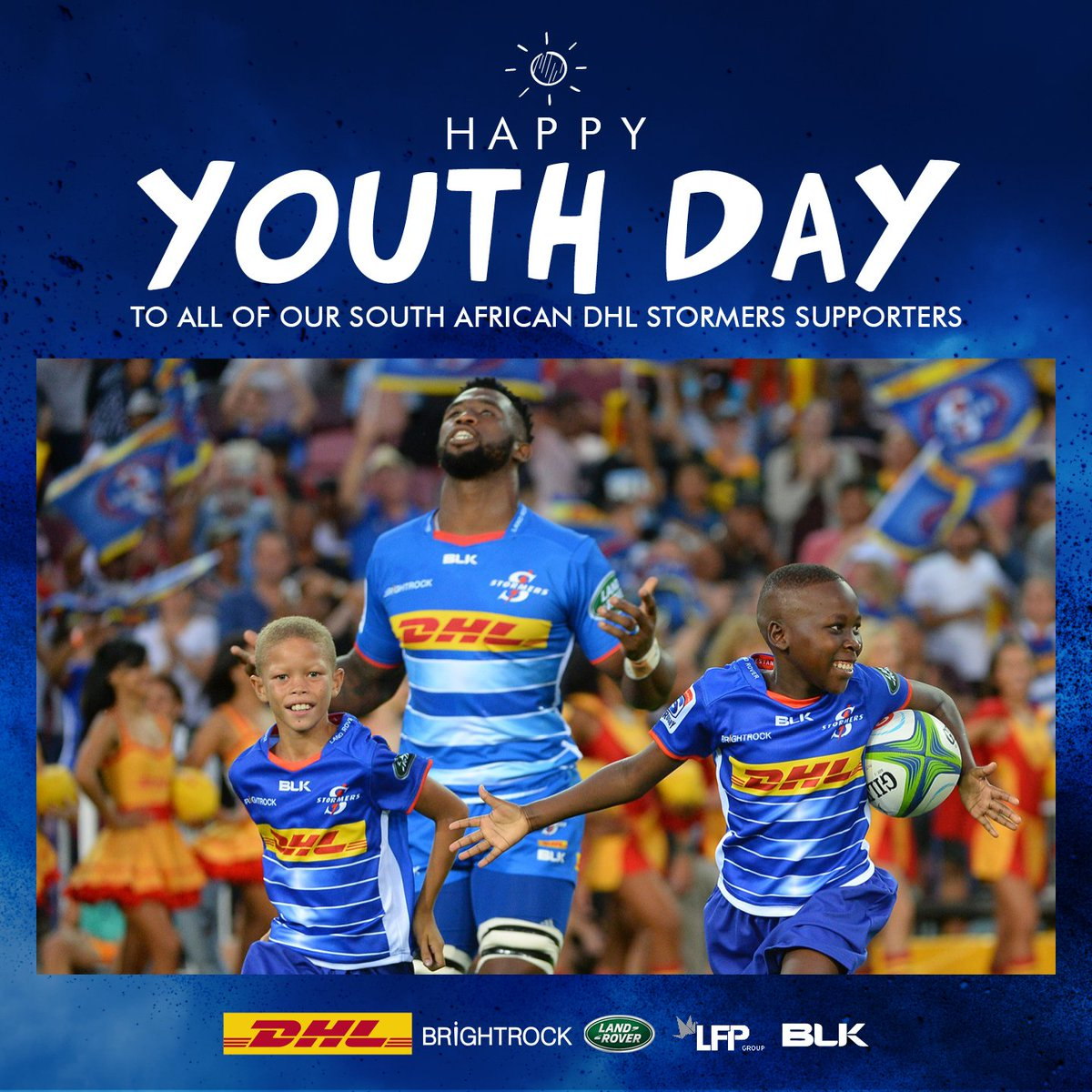 Happy Youth Day South Africa. Heres to a bright future. #iamastormer
