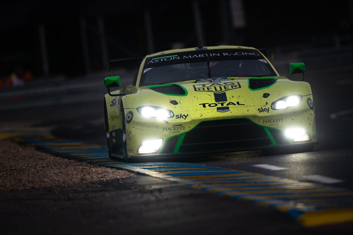 It's been a long night, we're not going to lie! But the #97 is still in the race and @alexlynnracing is pushing on and lapping faster than some of the cars further up the GTE Pro Class. We're not done yet, so thanks for cheering us on as we aim to finish this #SuperSeason