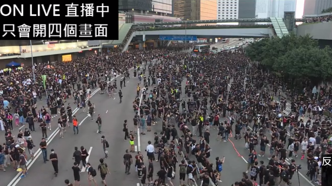 #extraditionbill #HongKongProtest ついに…オキュパイほぼ完成