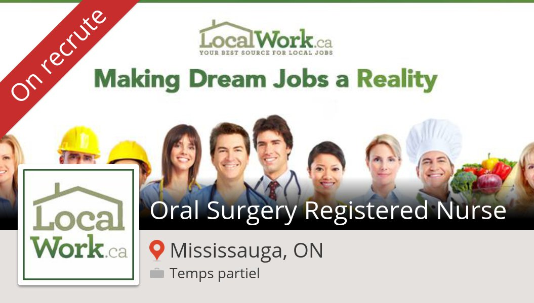 Check out this #job: Oral #Surgery Registered #Nurse at #LocalWorkca in #Mississauga https://workfor.us/localworkcanada/3p6…