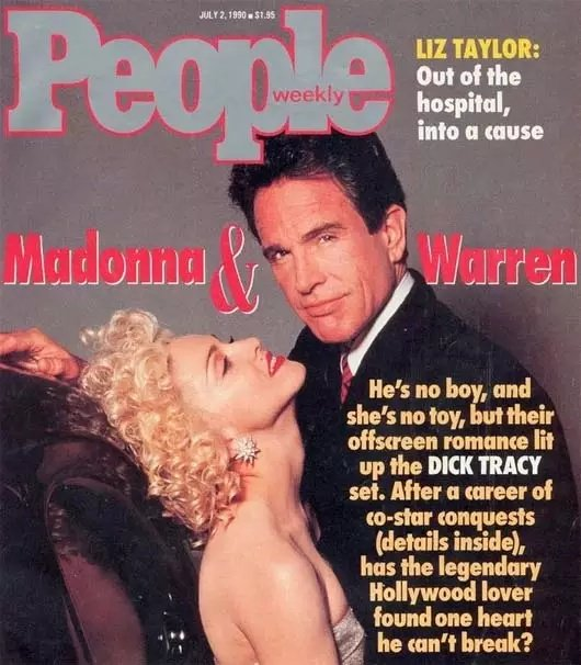 Also Madonna and Warren Beatty never made any sense as a celebrity couple beyond the sheer star studies inducing frenzy of it, but damn they did milk that aesthetic for all it was worth.