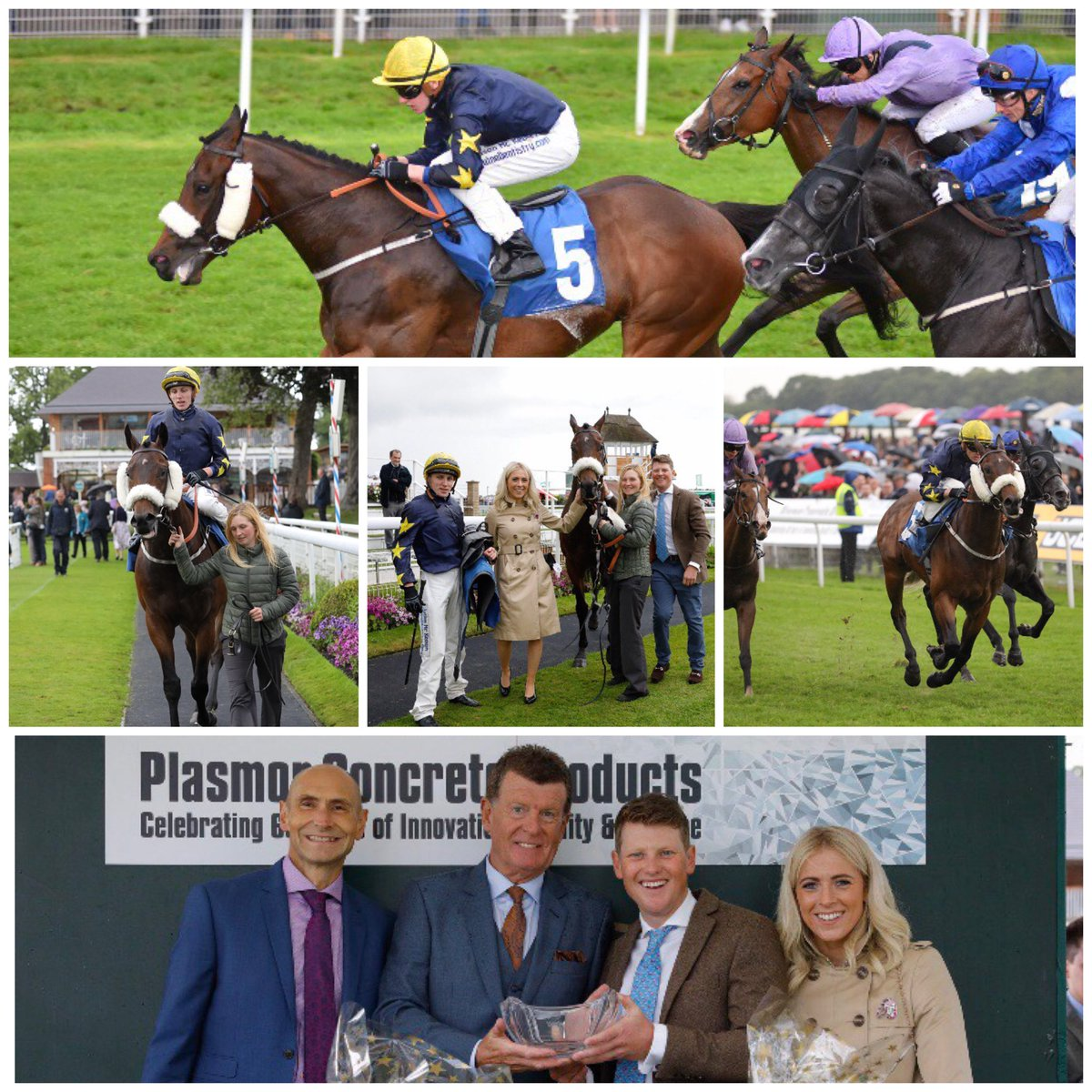 🌟🏇Winner🏇🌟 The ever so consistent Galloway Hills get his head in front to win the lucky last @yorkraces under a strong ride from @SeanPDavis3, Well Done to all involved 🤗👏💪🏇🥇Shares still available, get in touch for details 🙌