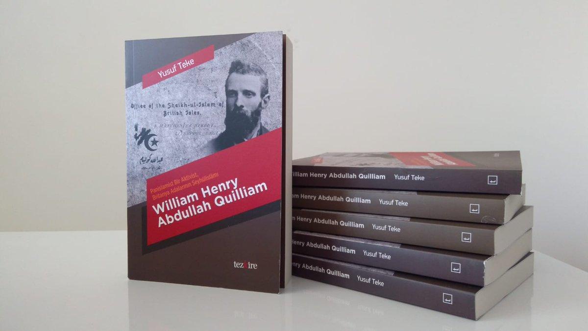 Uzun ve yoğun çalışmaların meyvesi olan Panislamist Bir Aktivist, Britanya Adalarının Şeyhülislamı William Henry Abdullah Quilliam isimli kitabımız Tezkire Yayıncılıktan çıktı. #İslâmcılık