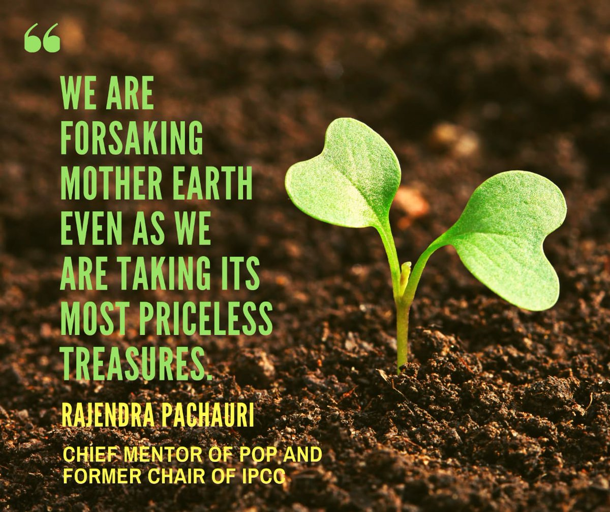 Words of concern from the former chair of @IPCC_CH, Dr. R.K. Pachauri, as the world faces the #climateemergency. @UNEnvironment @UNFCCC @Momentum_UNFCCC  #Climatechange #POPMovement #POPStar #voteforclimate #CarbonTax #carbonneutral #fossilfuels #ClimateCrisis #ClimateStrike #SDG<br>http://pic.twitter.com/7PjfwRp0Bl