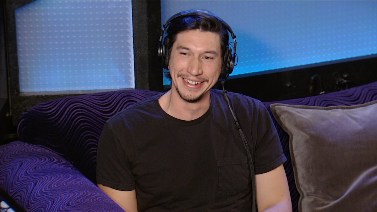 Before starring in critically acclaimed roles on TV (@girlsHBO) and in movies (@starwars, @BlacKkKlansman), Adam Driver was in the Marines. But then an accident changed his life. #SundaysWithHoward  Watch more from his 2015 interview with @HowardStern on the @SIRIUSXM app!