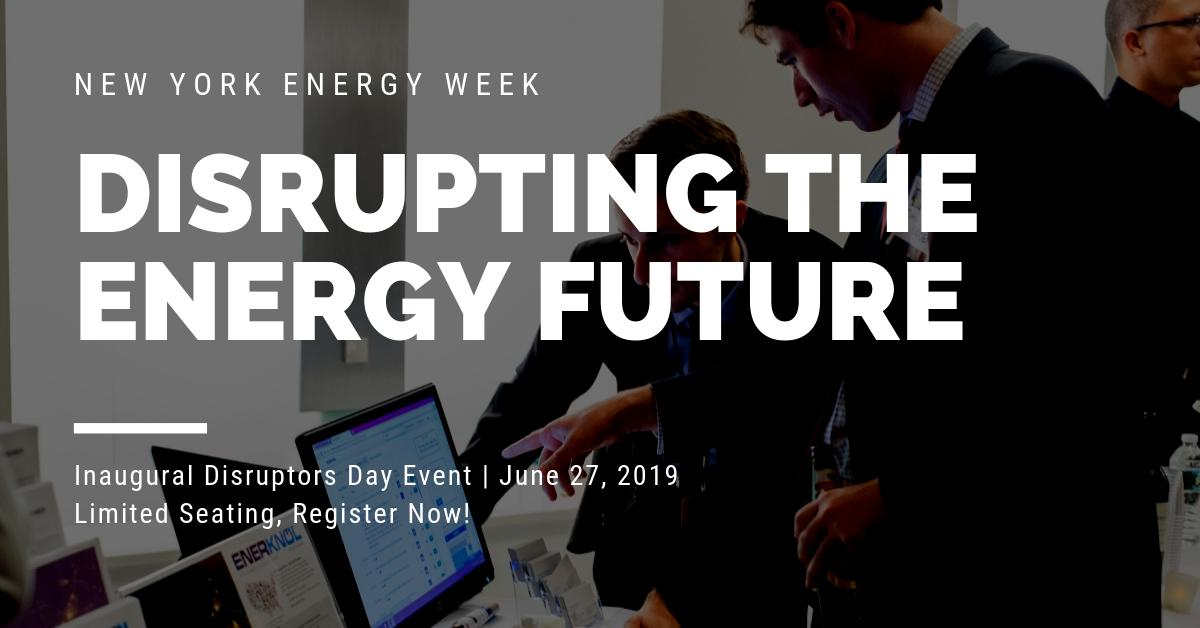 test Twitter Media - NYEW is launching Disruptors Day this year, and it's all about the people and innovations transforming the #energy industry. Learn more about the inaugural event: https://t.co/BJ70OfzGm8 https://t.co/tLR0jFkuAE
