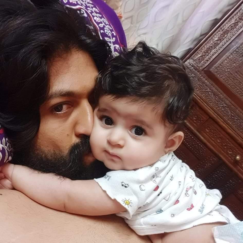 #KGF star #Yash's cute family  @TheNameIsYash