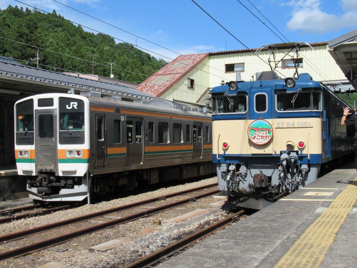 RT @noritetsu115: #SL  #ぐんまちゃん 2019.6.16 信越線 横川にて SLぐんまよこかわを見に来たら、ぐんまちゃんがいました!! https://t.co/wmzXEHKx5U