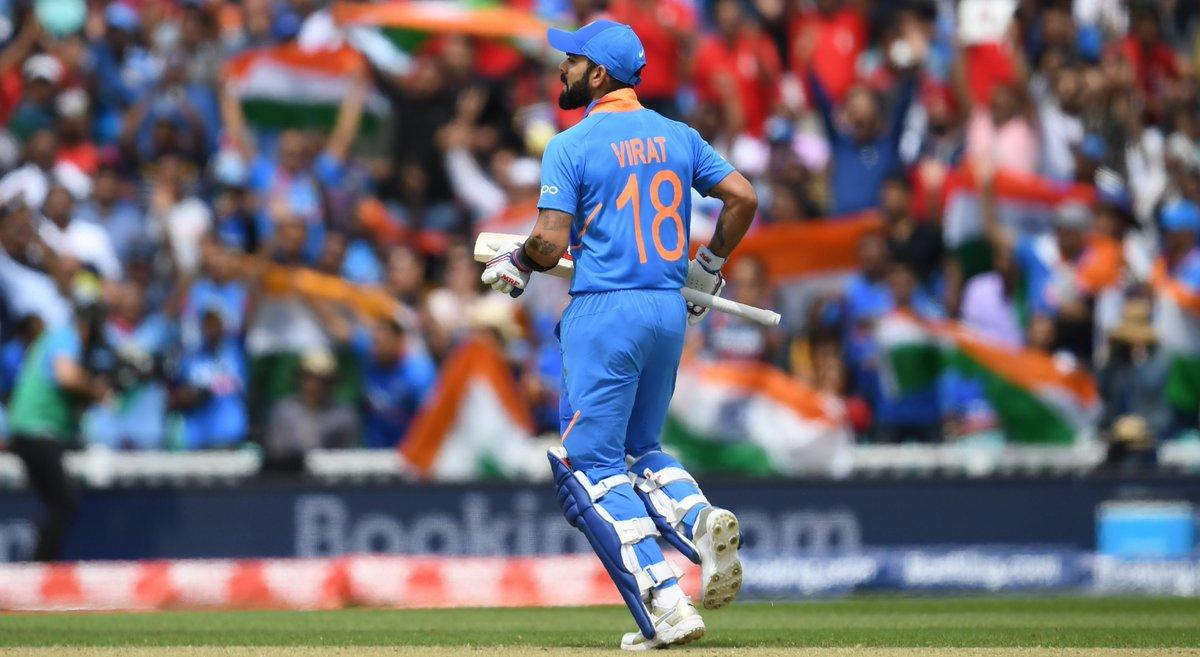 Levels of greatness: Good cricketer ⬇️ Great cricketer ⬇️ Professional cricketer ⬇️ International cricketer ⬇️ World-class cricketer ⬇️ Generational cricketer ⬇️ Virat Kohli #INDvPAK #CWC19