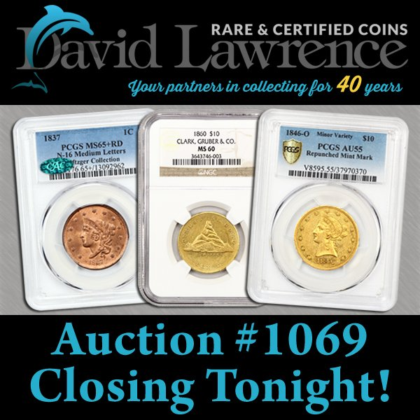 DLRC Auction #1069 Closing Tonight! #auctionclose #internetauction #pcgs #cac #ngc - https://t.co/md25Ch205u https://t.co/t07UmNG020