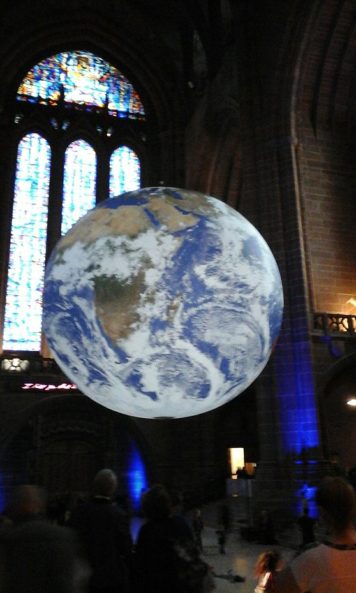 Go, see the world, they said. OK, says I... #gaia #liverpoolcathedral #seetheworld
