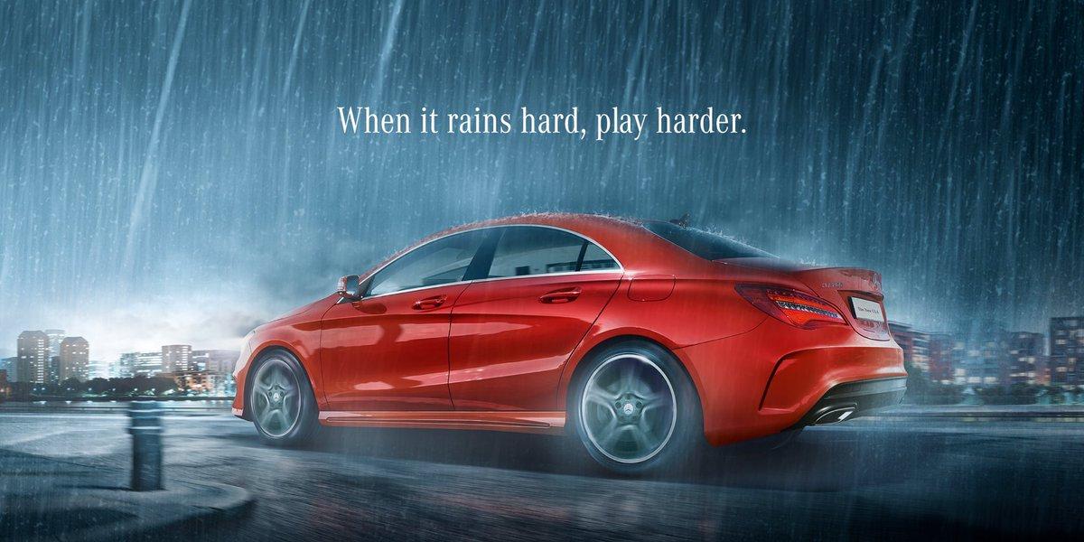Don't let the rain affect the play.   #IndiaVsPakistan #MercedesBenz