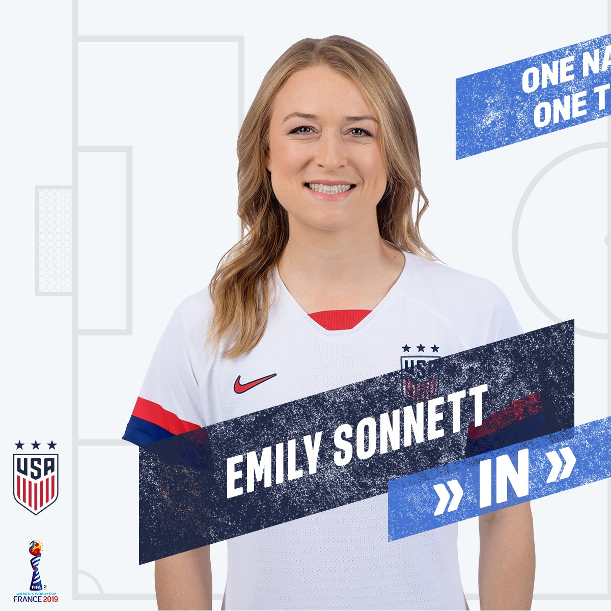 83   Final sub of the game for the #USWNT ➡️ @emilysonnett ⬅️ @AbbyDahlkemper #FIFAWWC