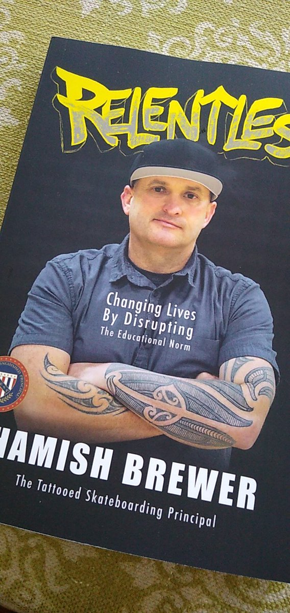 It has arrived! I'm diving in! #disruptthenorm #mountup #rideordie @brewerhm @burgessdave