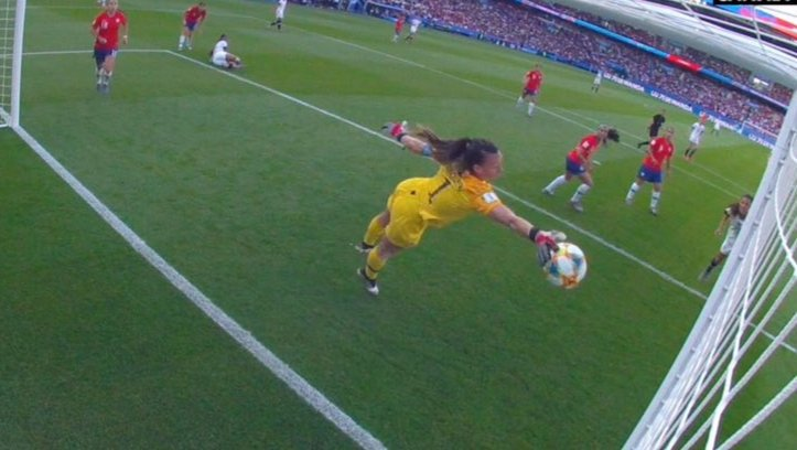 Comparte esta Christiane Endler para que tape todas las cagadas de tu vida⚽️ #RojaMundialCHV #FIFAWWC  #LaRojaFemenina