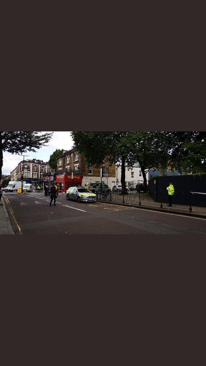 #Camden  A 15 year old boy has been stabbed in the face in north London.  Scotland Yard say police were called to Brecknock Road at 4.20pm.   Dartmouth Park Hill is closed near to #TuffnelPark Underground Station.   More below.