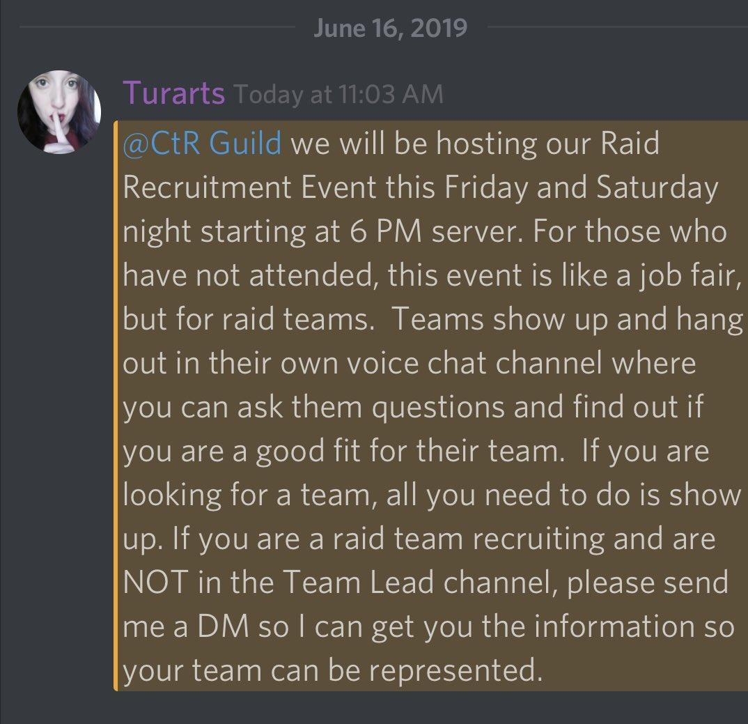 The CtR Guild (@CtRGuild) | Twitter