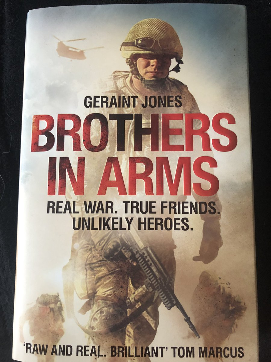 Great present for #FathersDay2019 from my daughters...... forewords by @BrianWoodMC and Major Adam Jowett. Can wait to get stuck into this.....