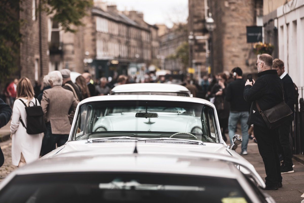 What a day yesterday in Edinburgh's West End at our 2nd Annual #ClassicVehicleEvent 🚙🎺🚘🎼 The vehicles were timeless and the atmosphere was fantastic! Thank you to everyone who came along and made it another success! See you next year?  . . . #edinburgh #edinburghwows