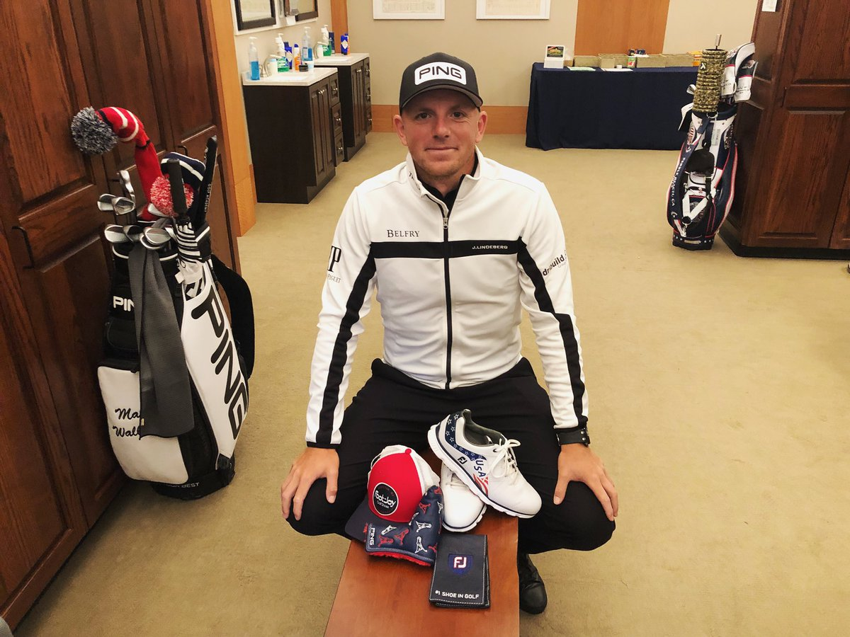 🚨Matt's Major Giveaway🚨  Retweet and Follow for a chance to win these cool Us Open prizes.  . 🇺🇸 @FootJoy shoes + hat + yardage holder  @PingTour Putter Headcover