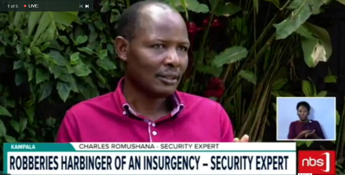 They say that the recently installed CCTV cameras and  LDUs can't be effective in fighting crime with an infiltrated security system. But the UPDF Land Forces spokesperson Lt Col. Henry Oboo says the country's intelligence is good enough. #NBSLiveAt9 #NBSUpdates