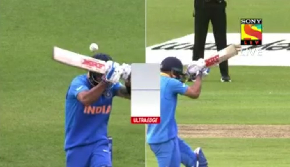 The Biggest Gift That father Gives To His Son...His Wicket:#IndiaVsPakistan
