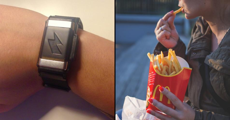 Amazon is selling a bracelet that shocks you if you eat too much fast food http://www.ladbible.com/news/technology-amazon-is-selling-a-bracelet-that-will-stop-you-eating-fast-food-20190616?source=twitter…