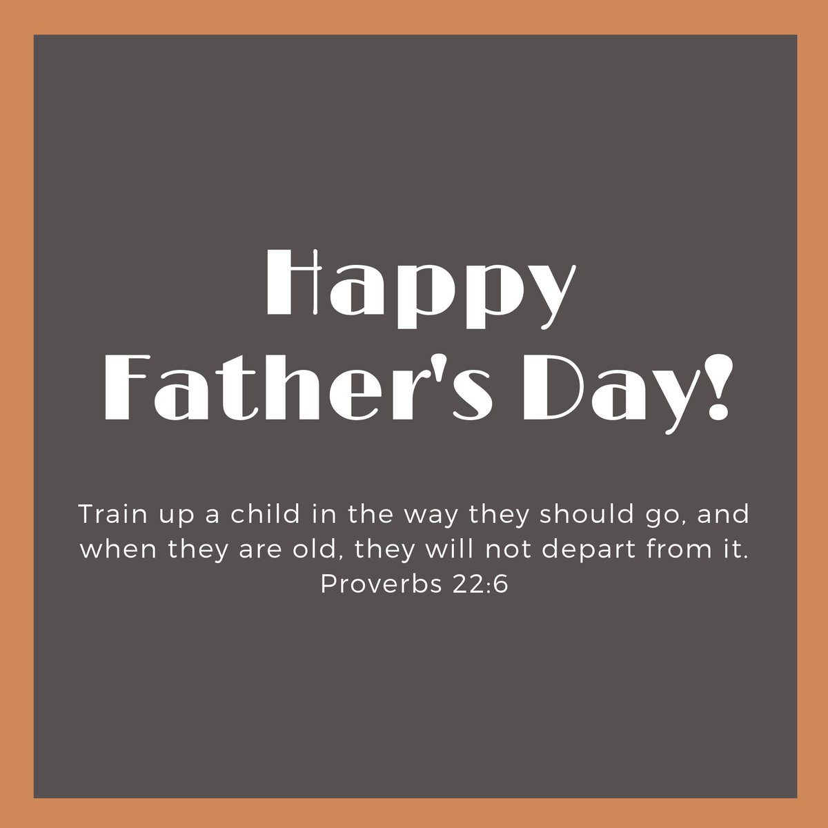❤️ #HappyFathersDay to all the awesome men in our lives who have helped us become who we are today! 🙏🏾 Train up a child in the way they should go, and when they are old, they will not depart from it. - Proverbs 22:6 #COGKnox #KnoxvilleChurch #Scripture #Knoxville