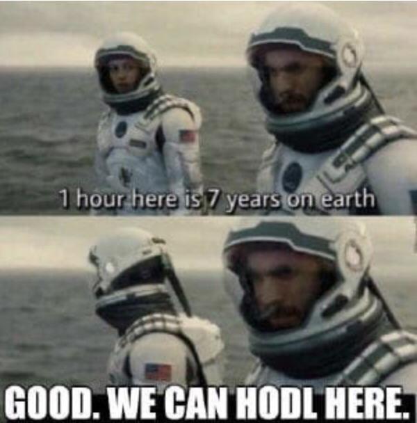 RT @CryptoLifeStore: Patience is key :) #bitcoin #hodl #moon #memes #meme #crypto #cryptocurrency #blockchain #funny #today