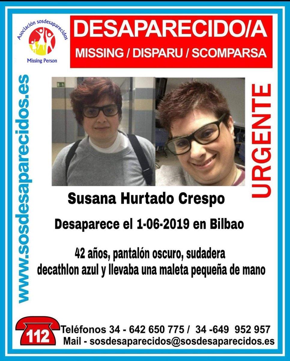 RT @sosdesaparecido: 🆘 DESAPARECIDA #Desaparecidos #sosdesaparecidos #Missing #España #Bilbao vía @VOSTeuskadi https://t.co/BRUSgFH4kf