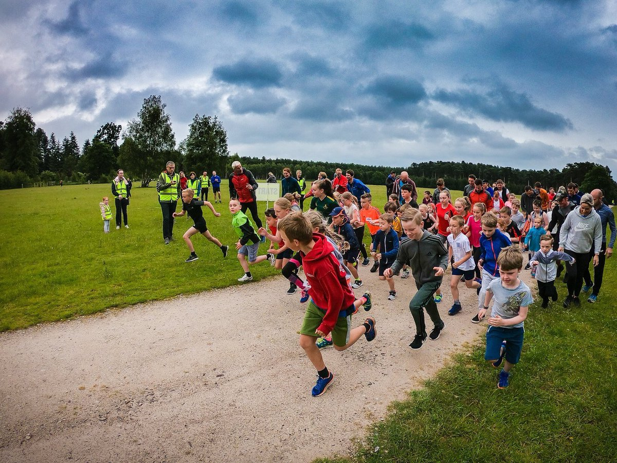 Our awesome runners 👏🏼👏🏼👏🏼 #BirchesValleyjuniorparkrun #CannockChase #juniorparkrun #Loveparkrun #parkrun