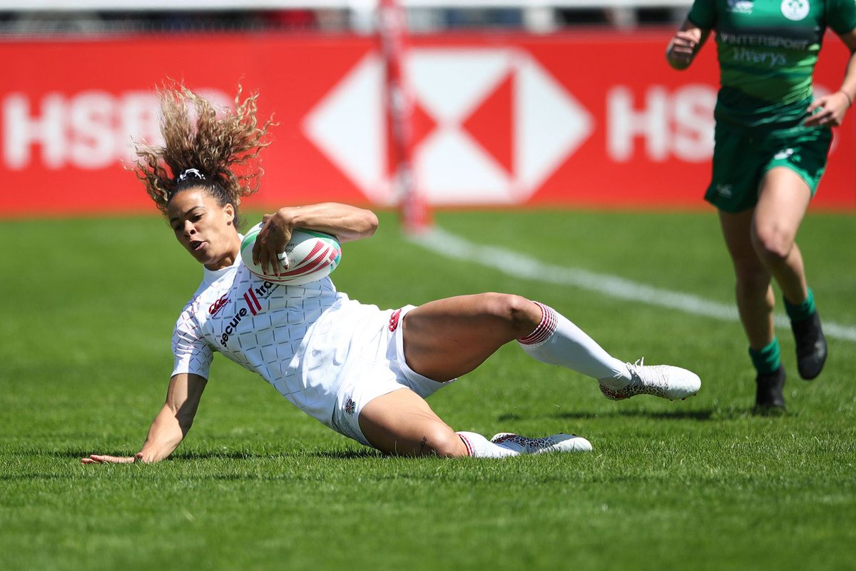 test Twitter Media - England Women Sevens beaten by @fijirugby in Challenge Trophy final at the #Biarritz7s 🌹  Match report 📲 https://t.co/U7ryiQ5McN https://t.co/Nix647WvVm
