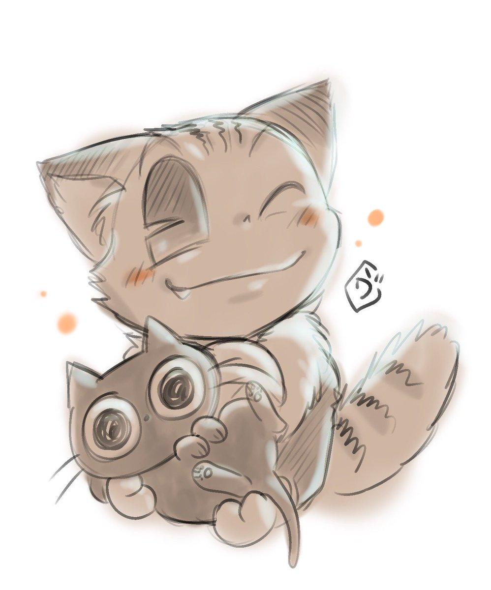 【発売中!】コロッケ!ファンで猫好きな方がおられればこちらも是非!Twitterで昨年夏より個人的に描いてきた猫4コマ漫画の「うちのネコは飼い主に優しい。」単行本が絶賛発売中です!。。※発売したばかりなので何度も宣伝お許しください。