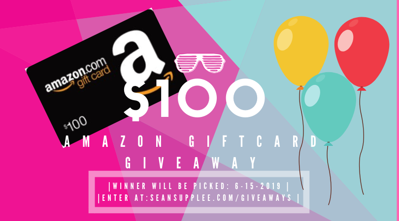 Just a few hours left in the $100 Amazon Giftcard #giveaway - http://SeanSupplee.com/giveaways  . #contest #ContestAlert #sweepstakes #sweeps #giveaways