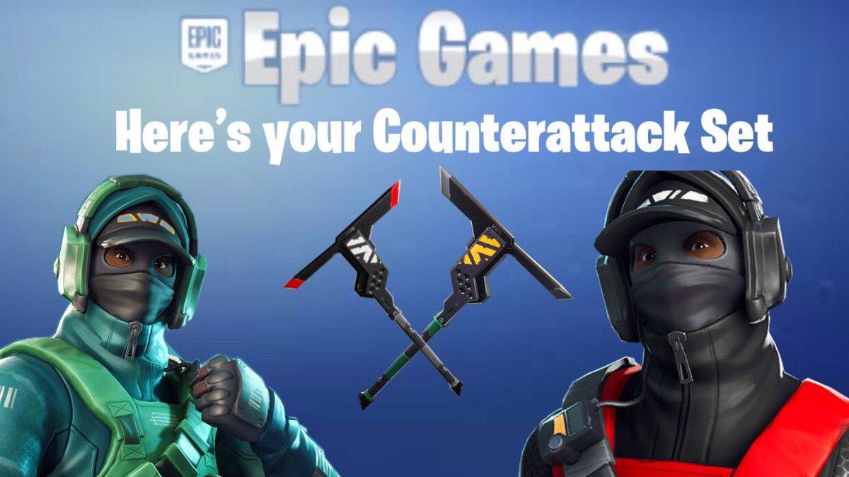 Fortnite Counterattack Set Epic Games Key Global G2a Com