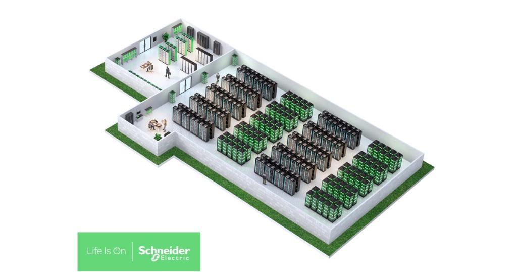 Wie Sie kritische Informationen und Daten schützen: mit #EcoStruxure für #Datacenter. Schneider Electric #IoT http://spr.ly/6016Eo0R6