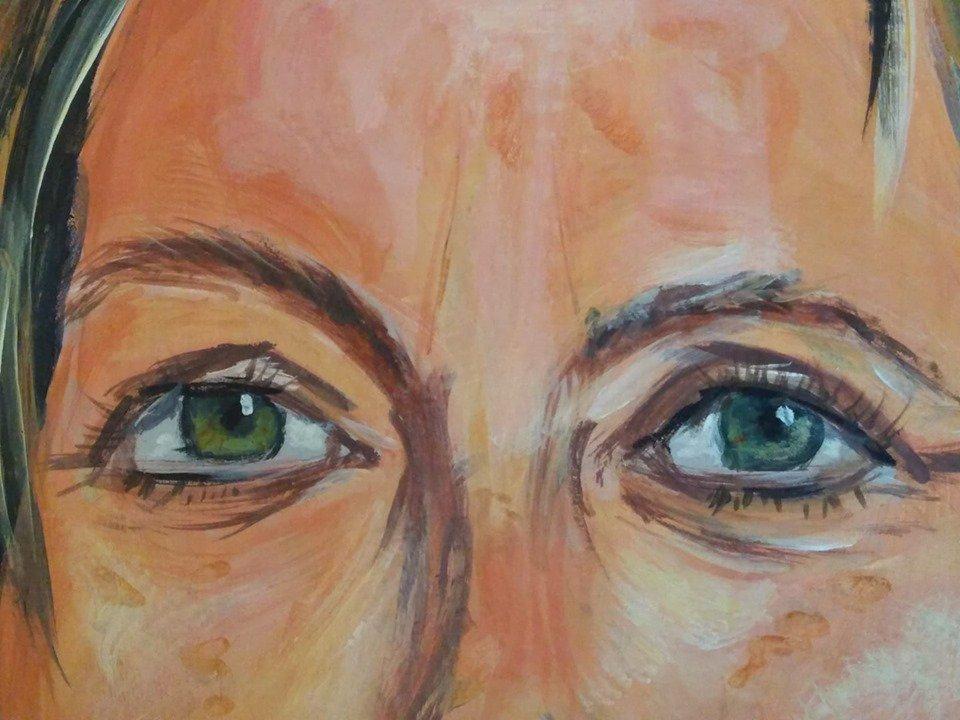 #sketch of #eyes #boceto de #ojos #portrait #fineart #edinburgh #malaga #contemporaryart