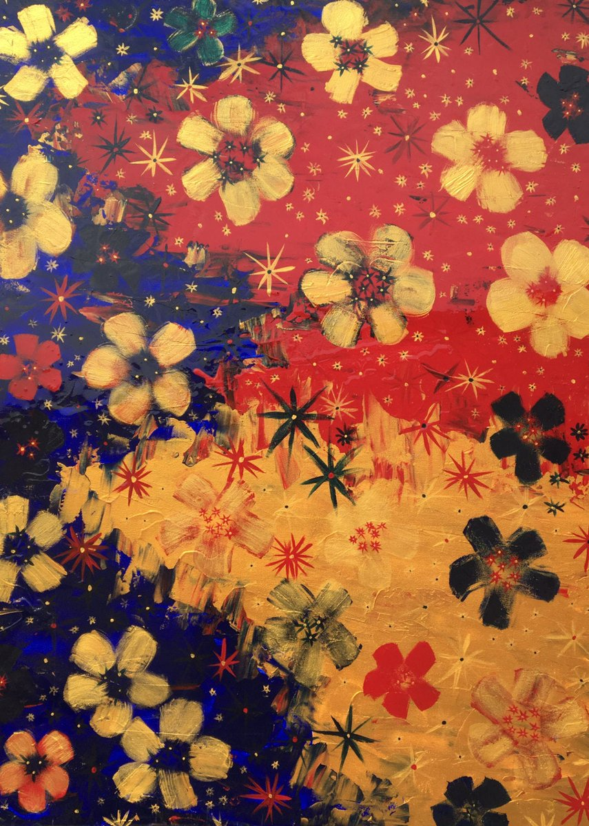 Victoria - Modern, Epoxy Resin, Flower, Original, Acrylic, Canvas, Painting, Large, Colorful, Red, Gold, Blue, Beautiful, Pattern, Art https://www.etsy.com/TracyFetter/listing/460704052/victoria-modern-epoxy-resin-flower?utm_source=around.io&utm_medium=twitter&utm_campaign=around.io… #fineart #shop