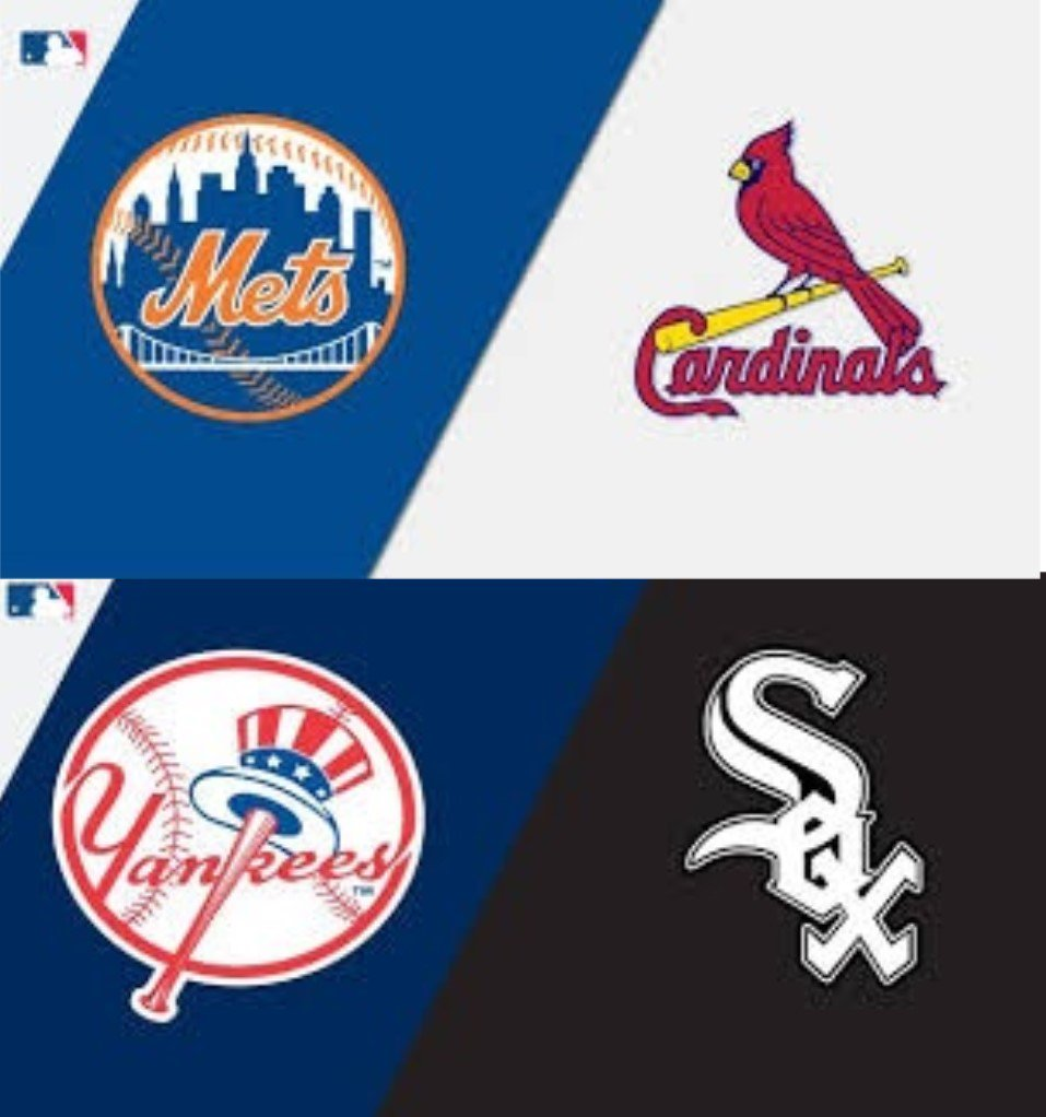Yankee Met Action On Our TVs Today  Cardinals Vs Mets First Pitch 1:10 pm Yankees Vs White Sox First Pitch 2:10 pm https://t.co/g2rmVDh6WA
