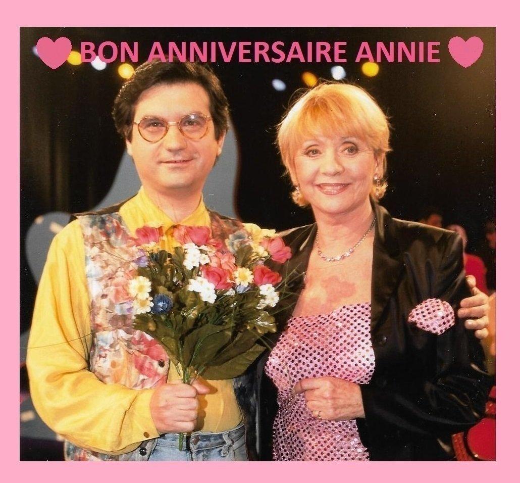 Bon anniversaire Annie.#AnnieCordy #Edouardo #EduardoPisani #JeTAimeLeLundi #Anniversaire #Musique #ChansonFrançaise #Paris #France #Belgique