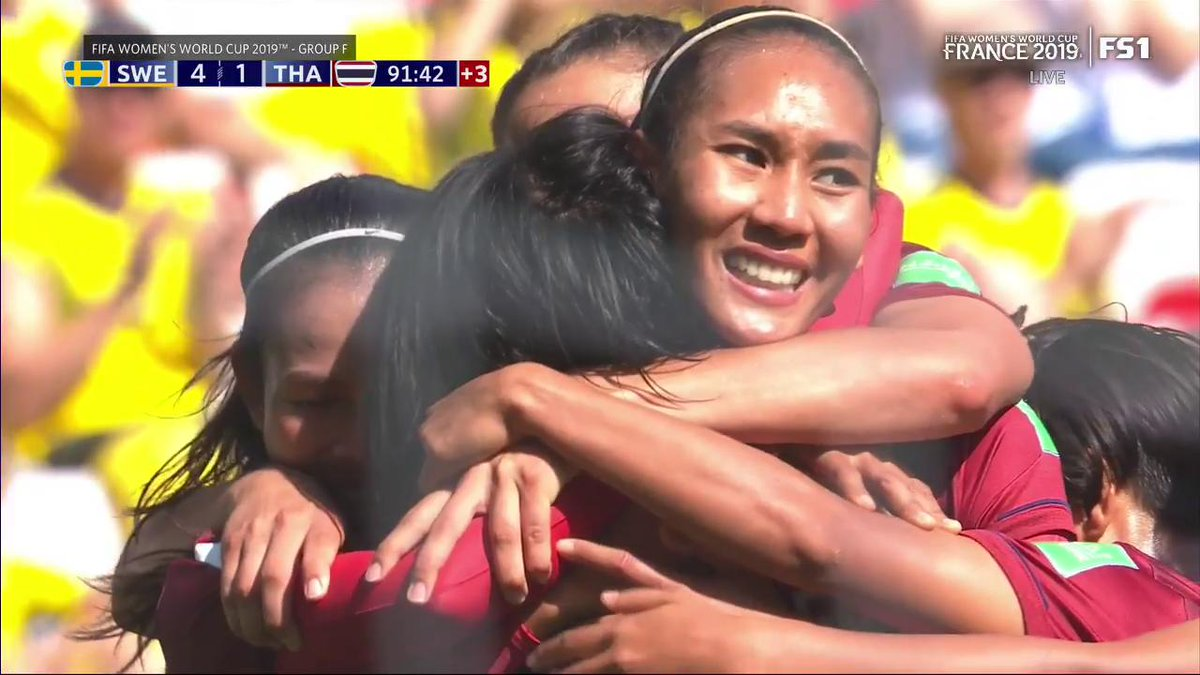 USA vs Chilie today: 2019 Women's World Cup highlights, score, next game schedule and Thailand woman's soccer team scores first goal (updated)