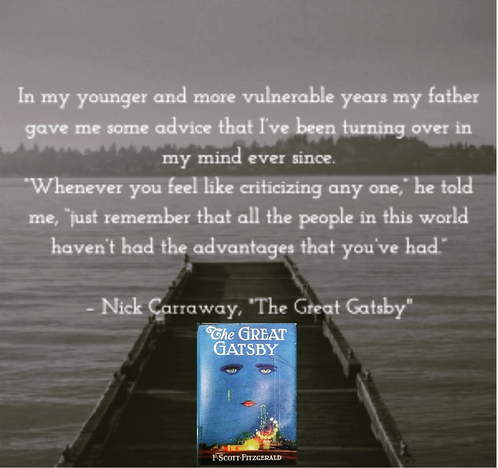 Happy Father's Day!   #FathersDay2019 #bookquotes #thegreatgatsby #fscottfitzgeraldquotes #HappyFathersDay <br>http://pic.twitter.com/LUbs7uzc67
