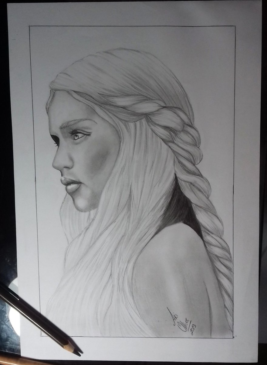 Daenerys targaryen Disponível para venda encomendas 31988306086  #DaenerysTargaryen #Daenerys #desenho #drawings #draw #desenhorealista #GameOfThrones #GameOfThronesFinale #targaryen #art #arte #GoodGirls #goodmorning #girls #good #happy #Domingo