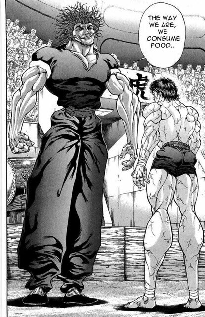 Special Mention: Yujiro Hanma  You hugged Baki's Momma so