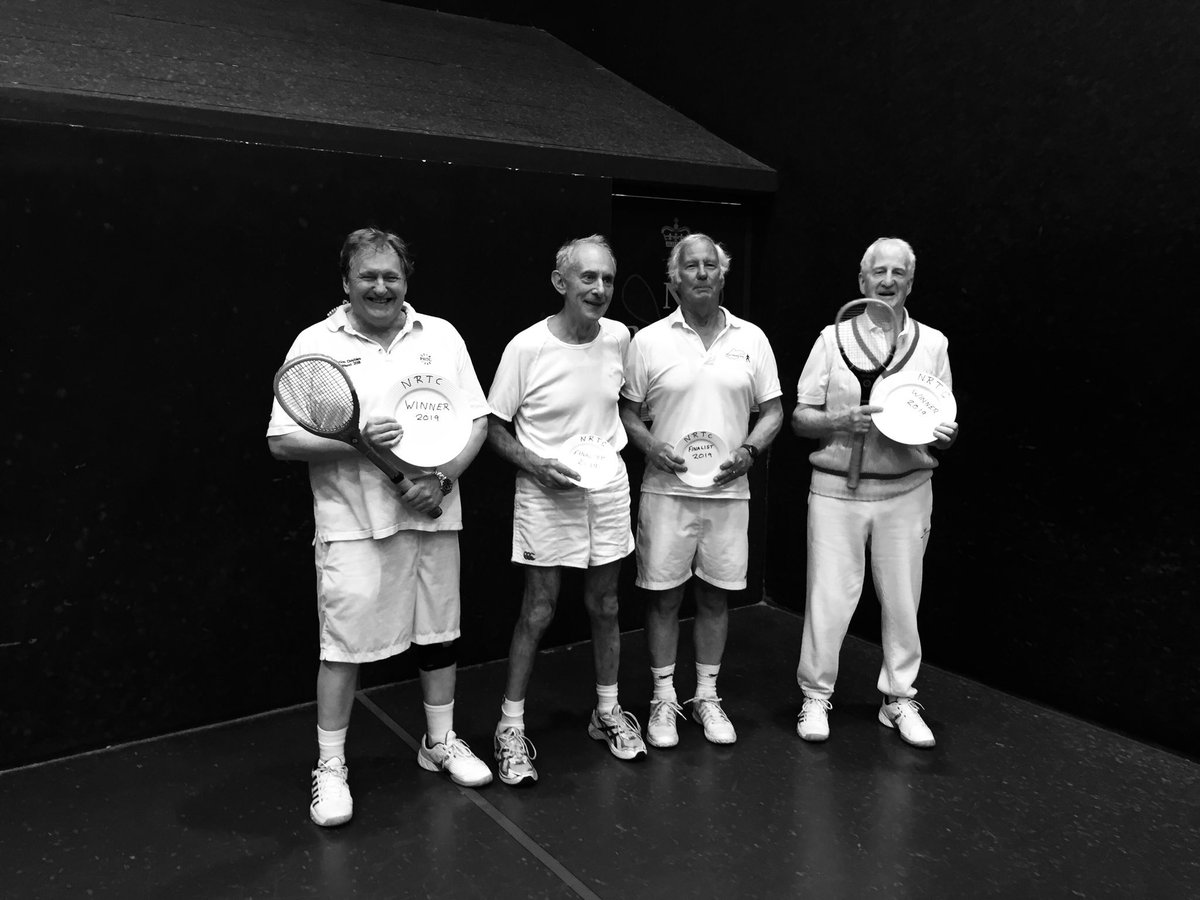 Simon Mansfield and Richard Dalziel #queensclub win the Newmarket #nrtc #realtennis Rose Bowl Plate 6-5 Now for the big one!<br>http://pic.twitter.com/Kyd35V4v4l