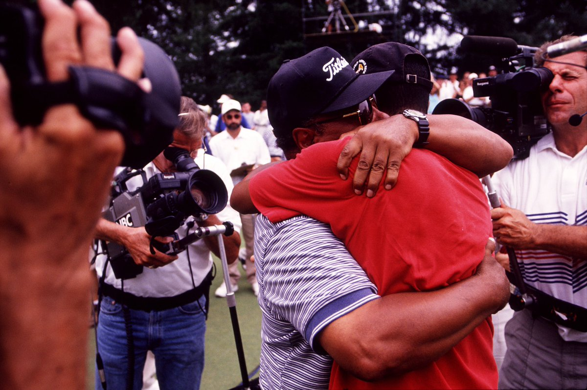 Tiger Woods Posts Heartfelt Message On Father's Day