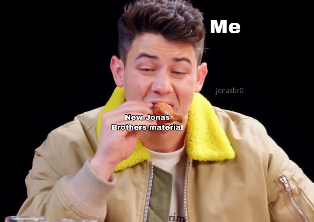 Two new @jonasbrothers songs come out this week (On Tuesday & Friday) We JUST got a new album and now we're getting brand new songs? Jonas Brothers really feeding us well after 6 years of drought!  <br>http://pic.twitter.com/ZvodyZbj9B