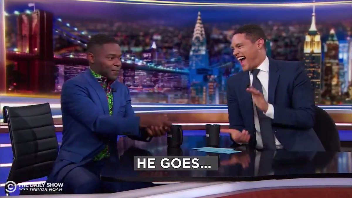 RT @TheDailyShow: Happy Father's Day to David Oyelowo's dad and David Oyelowo's dad only. https://t.co/uy2PDtsBaQ