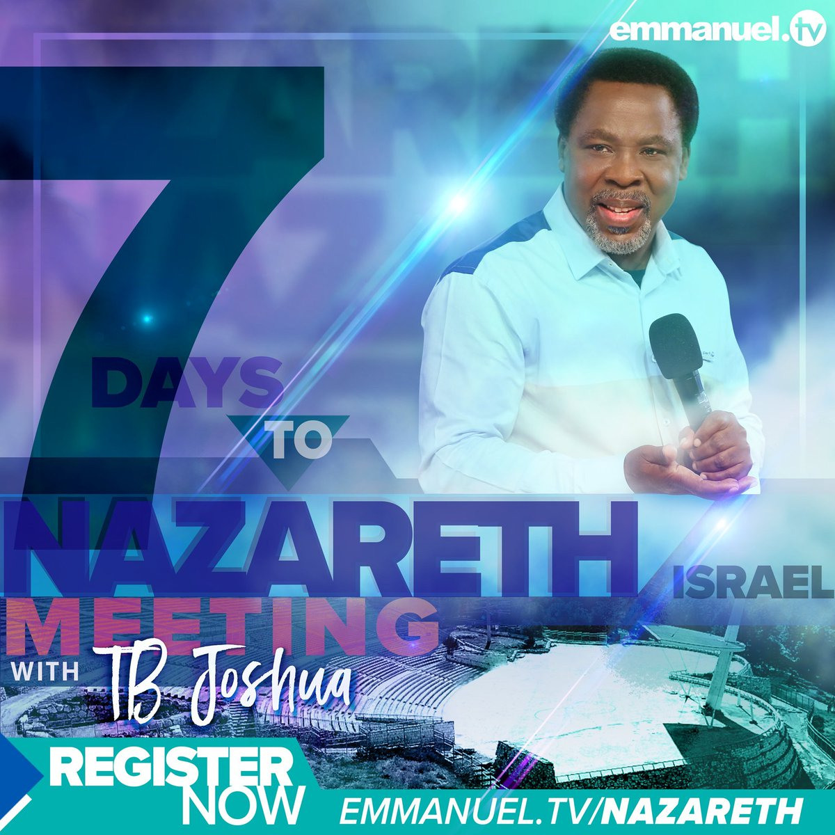 As we draw closer to the meeting with TB Joshua in Nazareth with