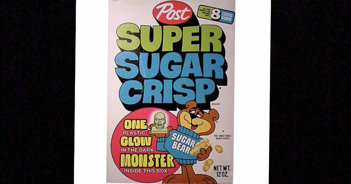 80s CEREAL of the Day:  Super Golden Crisp (1947-Current)  Love the 1980s?  Visit THE BIGGEST 80s Website on the Internet: http://80sThen80sNow.com  @postcereals #Cereal #SugarBear #Bear #Breakfast #Milk #Spoon #Bowl #Snack #Cartoons #Cartoon #SaturdayMorning #Weekends #1980s #80s
